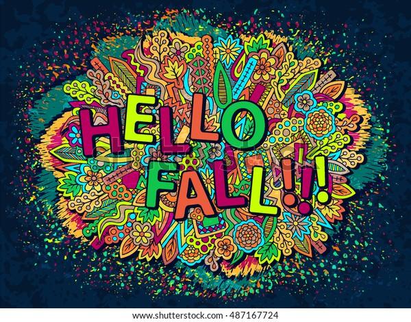 Autumn Background Fall Season Wallpaper Abstract Stock