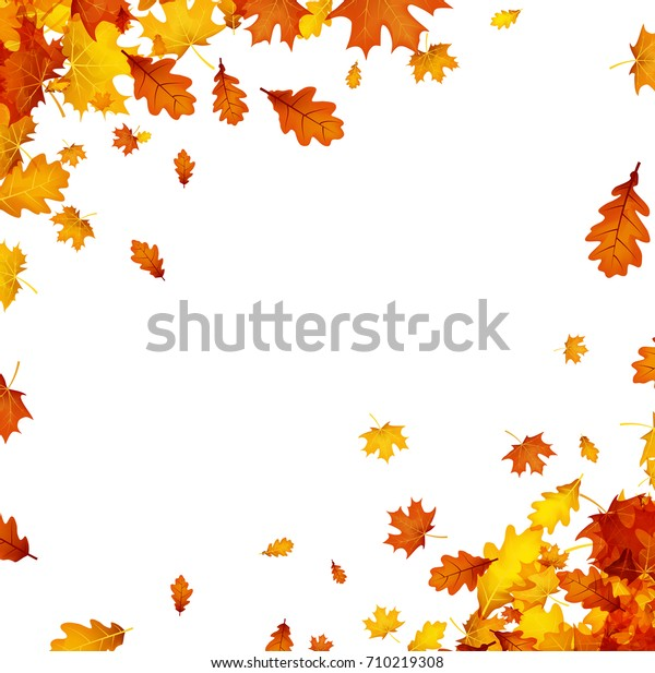 Golden Maple Tree Clip Art