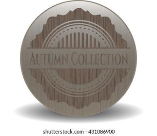 Autumn Collection wood emblem. Vintage.