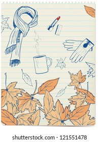 autumn doodles