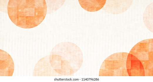 Autumn Japanese paper background texture