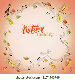 Autumn Melody Images, Stock Photos & Vectors | Shutterstock