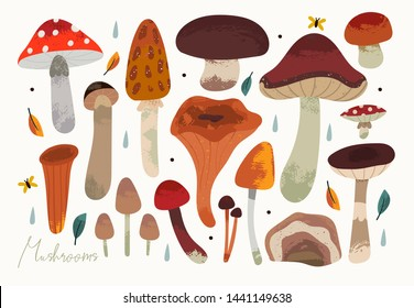 Mushroomcartoons Images Stock Photos Vectors Shutterstock