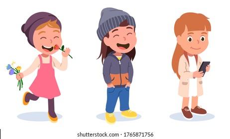Girl Sensitive Smell Illustration by BNP Design Studio #1632846