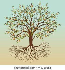 Autumn tree of life