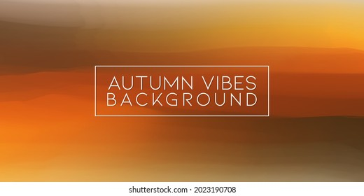 Autumn Vibes Color Oil Painting Blur Artistic Texture Background. Fall Season Acrylic Watercolor Artwork Backdrop Design Banner Template.