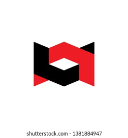 AV letter with up and down arrows logo design