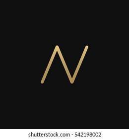 AV and VA logo icon
