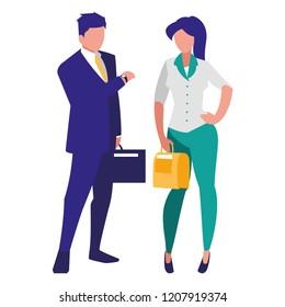 avatar businesspeople design