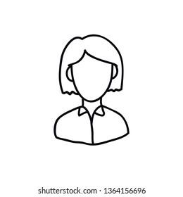 avatar doodle icon