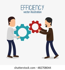 avatar efficiency work colaboration design isolated
