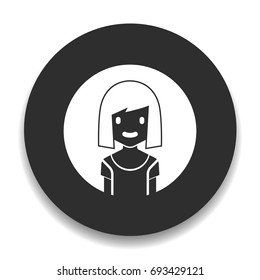 avatar girl icon