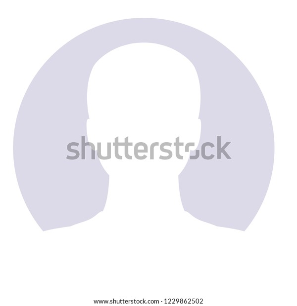 Avatar Man Icon Profile Placeholder Anonymous Stock Vector (Royalty
