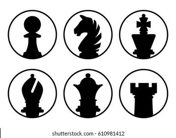 Avatars chess pieces