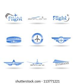Aviation icons. Vol 1.