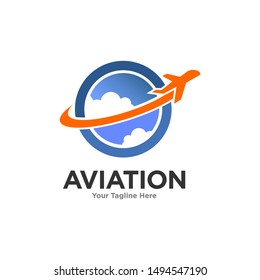 Aviation Logo Images Stock Vectors