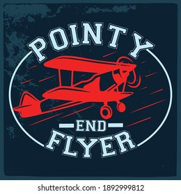 Aviation T shirt design- Vector Graphics and typography t-shirt design for apparel.