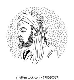 Avicenna line art
