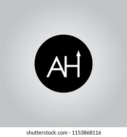 AW UP TO AZ LOGO DESIGN WITH BLACK AND WHITE CREATIVE ICON TEXT LETTER VECTOR.
