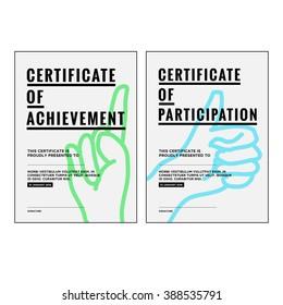 Award Certificate Concept Template