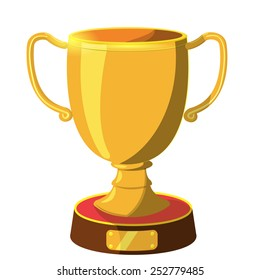 Award Gold icon cartoon vector