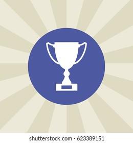 award icon. sign design. background