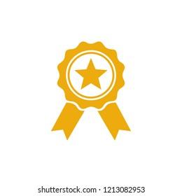 Award icon symbol vector