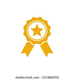 Award icon symbol vector. symbol for web site Computer and mobile vector.