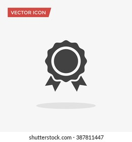 Award Icon in trendy flat style isolated on grey background. Badge symbol for your web site design, logo, app, UI. Vector illustration, EPS10.