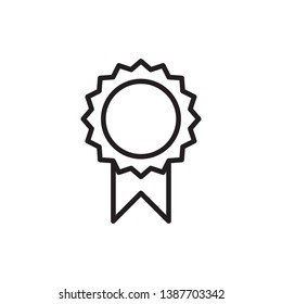 award icon vector design, outline style, for ui design