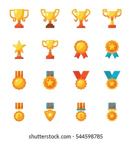 Award icon vector pack