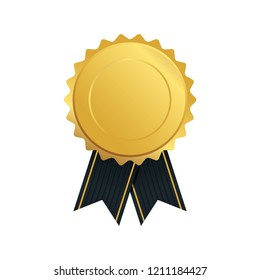 Award ribbon vector design