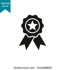 award vector icon in trendy flat style, medal icon