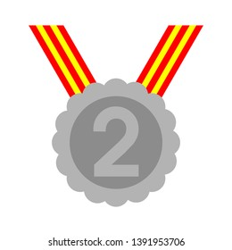 award winner - Second place prize, vector competition badge