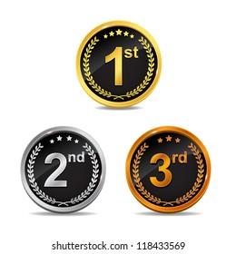 Award Wreath Badges