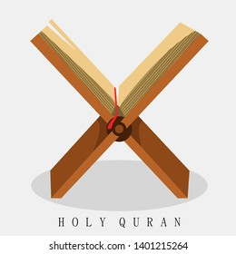 Awesome Illustration Vector Holy Qur'an