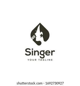 awesome modern Singer or Choir logo design inspiration