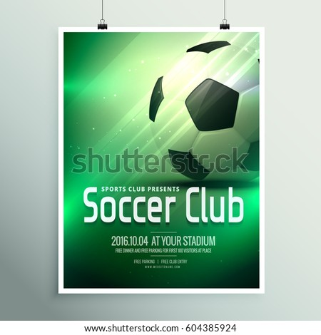 awesome sports flyer poster design template のベクター画像素材