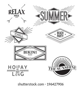 Awesome summer vector! Vintage and user friendly vector.  This vector was co-create by Vincent Locchi and Fontyou.