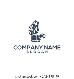 awesome video film productions logo design
