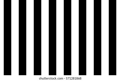 AWNING STRIPE seamless pattern background vector, Black and white line texture backdrop.