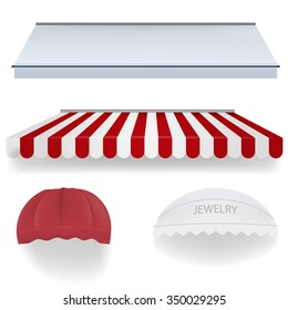 Awnings for shop