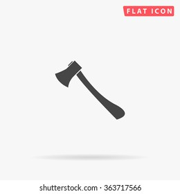 Axe Icon Vector. Simple flat symbol. Illustration pictogram