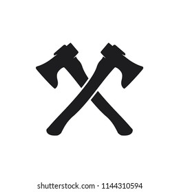 axes vector icon in trendy flat style