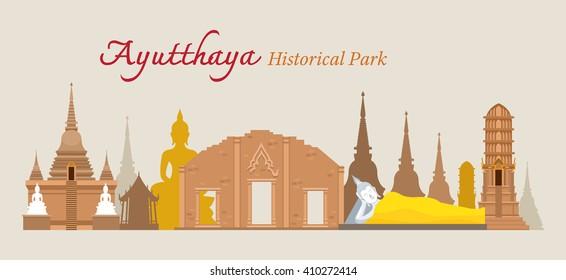 Ayutthaya, Historical Park, Thailand, World Heritage, Travel, Tourist Attraction