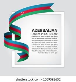 Azerbaijan flag background