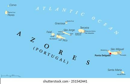 Vectores Imagenes Y Arte Vectorial De Stock Sobre Islas Azores