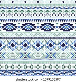 Aztec american indian pattern tribal ethnic motifs geometric vector background. Beautiful native american tribal motifs clothing fabric ethnic traditional design. Mayan clothes pattern design.