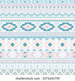 Aztec american indian pattern tribal ethnic motifs geometric vector background. Doodle native american tribal motifs clothing fabric ethnic traditional design. Mayan clothes pattern design.