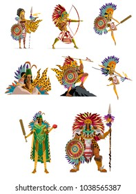 aztec warriors collection